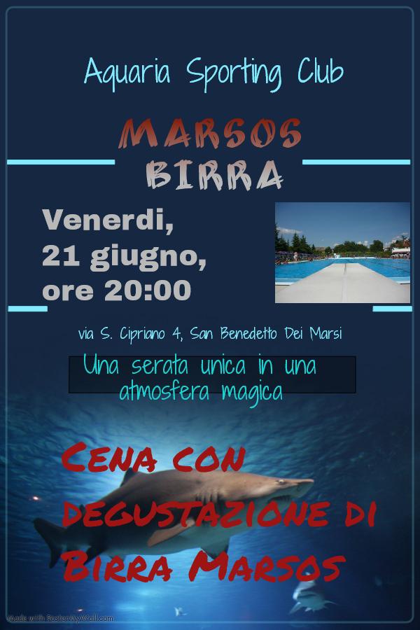 Happy Marsos Day & Aquaria Sporting Club